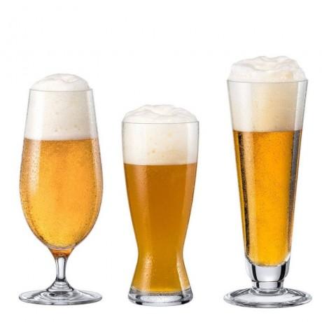 Комплект от 3 различни чаши за бира Rona колекция Boutique