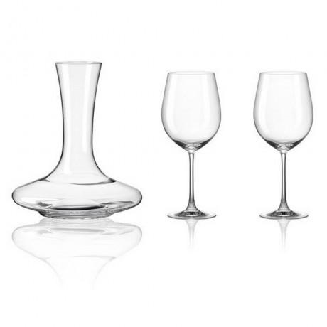 Комплект декантер и 2 броя чаши Rona колекция Set 3 for 2