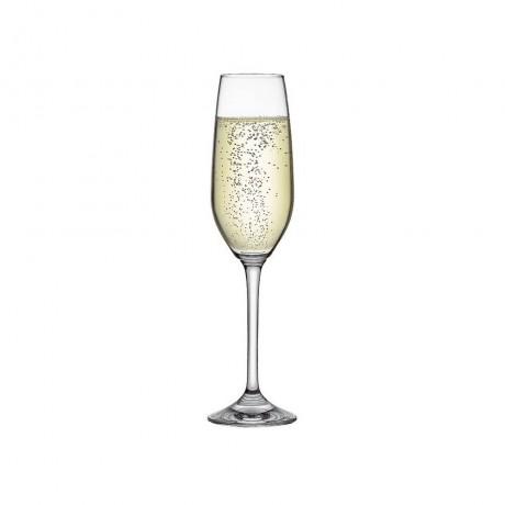6 бр. чаши за шампанско 205 мл Rona колекция Yarra