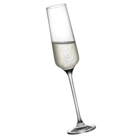 4 бр. чаши за шампанско 190 мл Rona колекция Charisma
