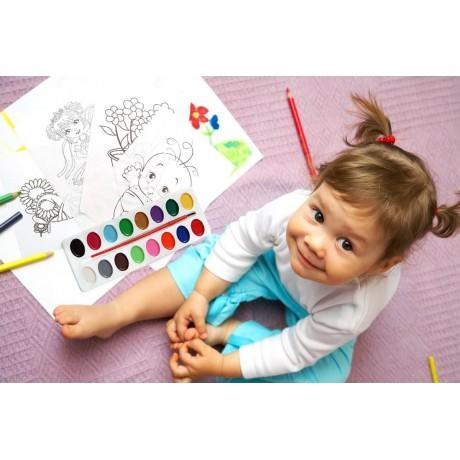 Боички с картинки за оцветяване