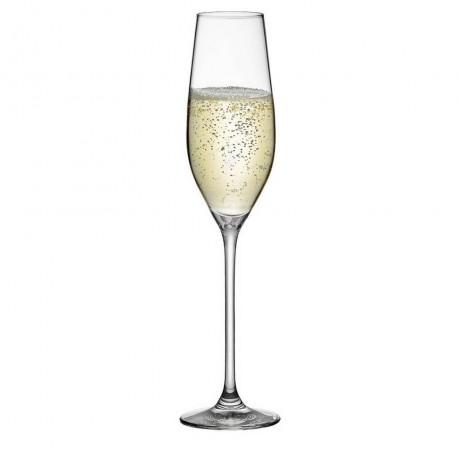 6 бр. чаши за шампанско 210 мл Rona колекция Celebration
