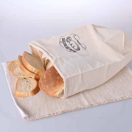 Платнена торба за съхранение на хляб