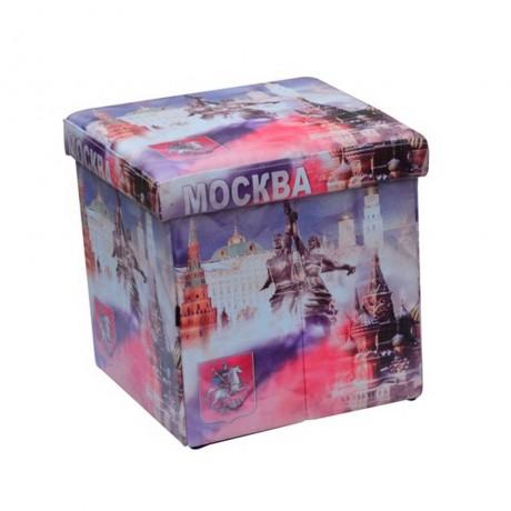 Сгъваема табуретка с мотив Москва марка HOMA