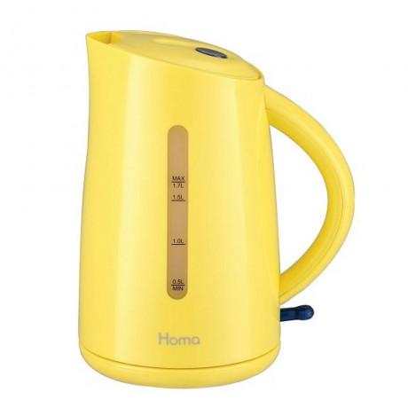 Електрическа кана в жълт цвят HOMA