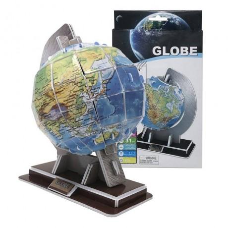 3D пъзел - глобус от 31 части