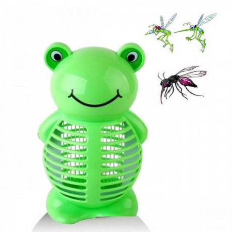 Светодиодна лампа против комари - жабка
