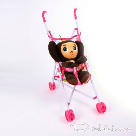 Пластмасова бебешка количка за кукли