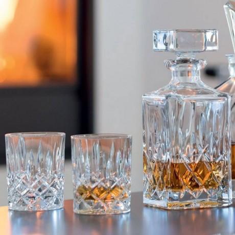 Комплект бутилка и 2 броя чаши Nachtmann от серия Noblesse