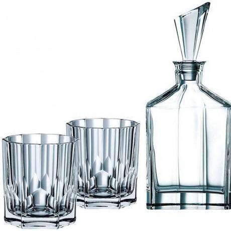 Комплект гарафа и 2 броя чаши Nachtmann от серия Aspen