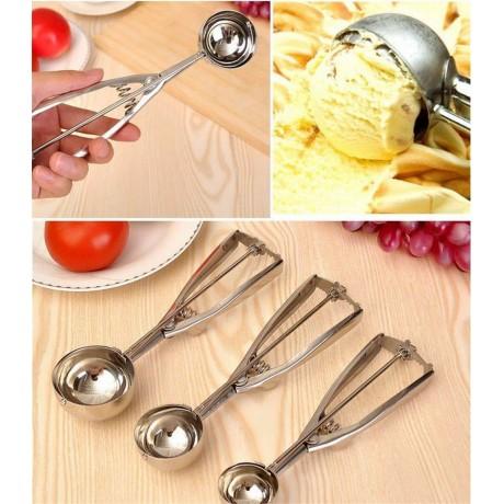 Лъжица за сладолед с механизъм 6 см
