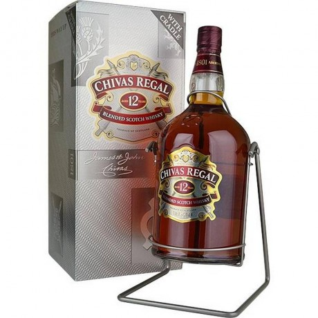 Уиски Чивас Регал 12 годишен 4.5 л Люлка