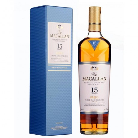 Уиски Макалън Трипъл Каск 15 годишен 0.7 л