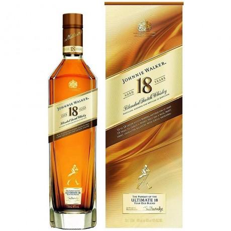 Уиски Джони Уокър 18 годишно 0.7 л