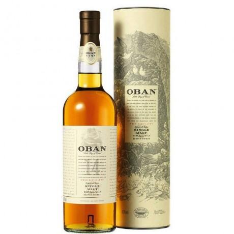 Уиски Обан 14 годишно 0.7 л