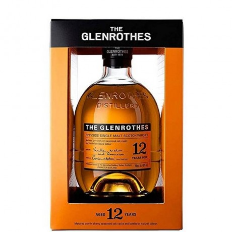 Уиски Гленротс 12 годишно 0.7 л