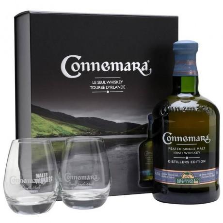 Уиски Конемара Едишън 0.7 с 2 Чаши