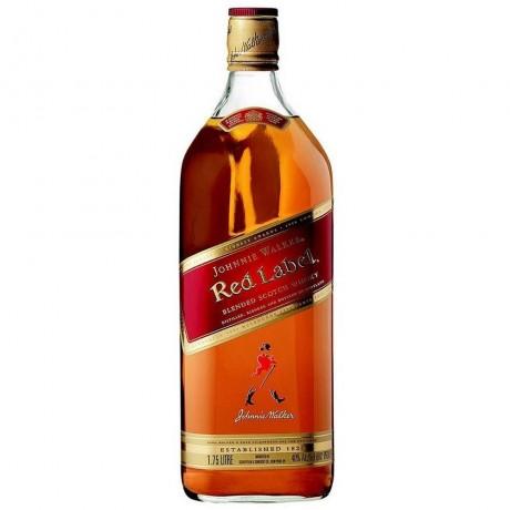 Уиски Джони Уокър Червен Етикет 1.75 л