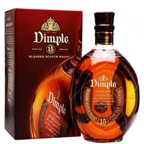 Уиски Дъмпъл 15 годишен 0.7 л с 2 Чаши