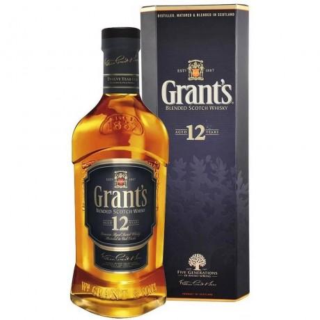 Уиски Грантс 12 годишен 0.7 л