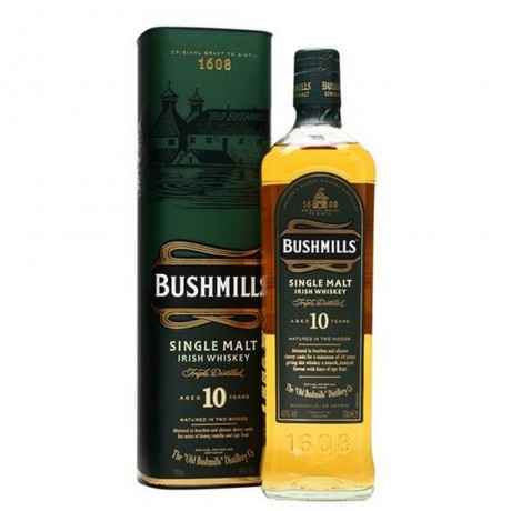 Уиски Бушмилс Сингъл Малц 10 годишен 0.7 л