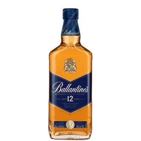 Уиски Балантайнс 12 годишен 0.7 л