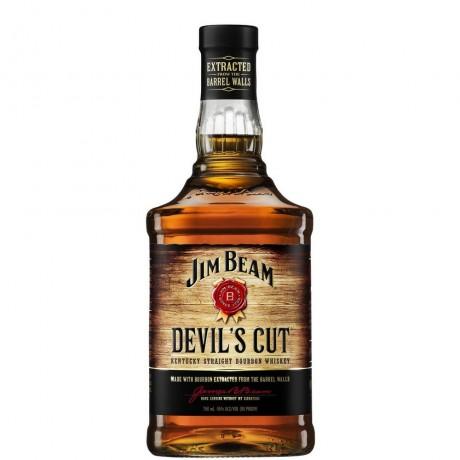 Уиски Джим Бийм Девилс Кът 0.7 л