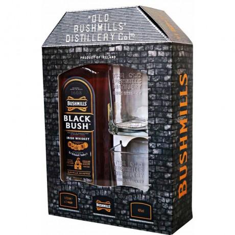 Уиски Бушмилс Блек Буш 0.7 л с 2 Чаши
