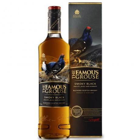 Уиски Феймъс Граус Смоуки Блек 0.7 л