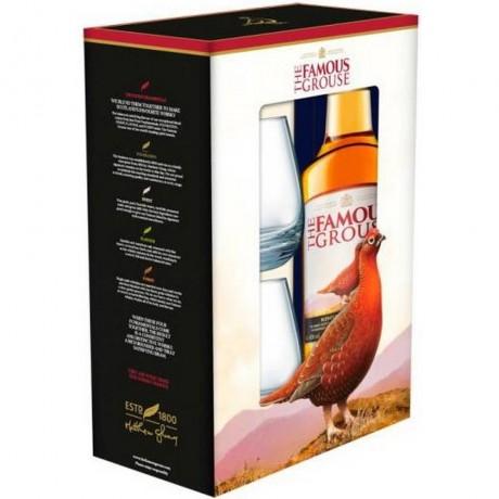 Уиски Феймс Граус 0.7 л с 2 Чаши