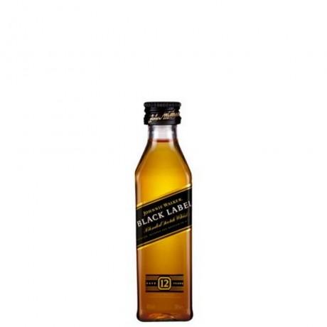 Уиски Джони Уокър Черен Етикет 12 годишно 0.2 л
