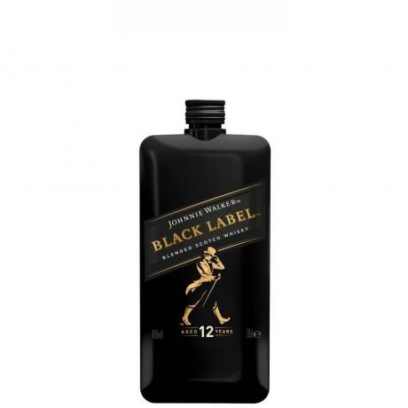 Уиски Джони Уокър Черен Етикет 12 годишно Покет 0.2 л