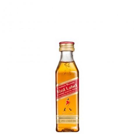 Уиски Джони Уокър Червен Етикет 0.05 л Миниатюра