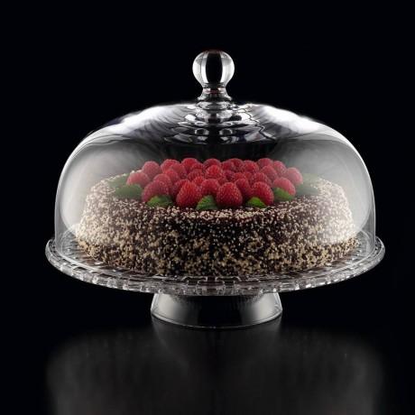Поставка за торта на столче с капак Nachtmann