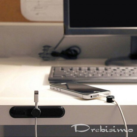Магнитен държач - органайзер за кабели