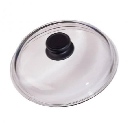 16 см стъклен капак с бакелитова дръжка