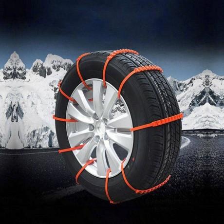 10 бр. свински опашки за автомобилни гуми против хлъзгане/буксуване