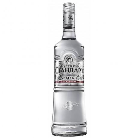 Водка Руски Стандарт Платинум 1 л