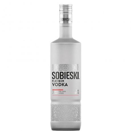 Водка Собиески Платинум 0.7 л