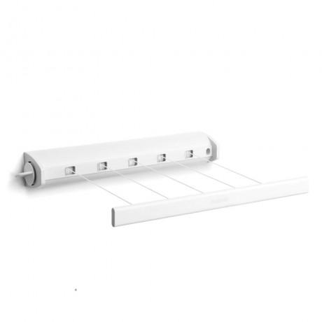 22 м бял разтегателен простор Brabantia от серия PULL-OUT