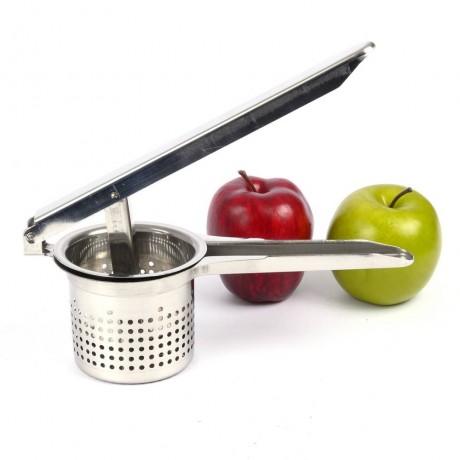 Преса за пюриране на плодове и зеленчуци от неръждаема стомана
