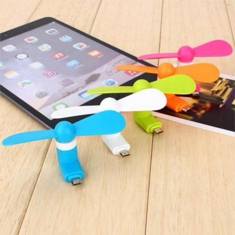 Мини USB вентилатор за Android и iPhone
