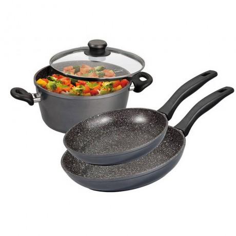 Комплект 4 части кухненски съдове Stoneline