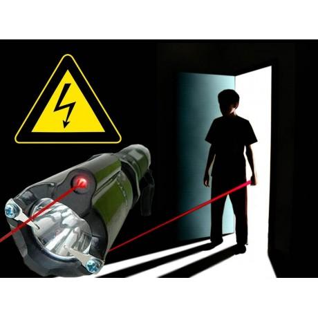 Прожектор с електрошок и лазер FT 1298