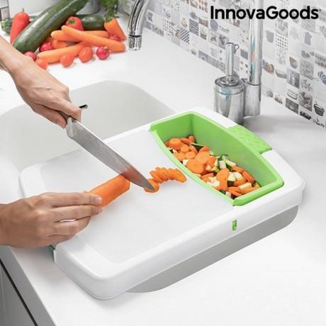 Специална кухненска дъска 3 в 1 с тава, контейнер и сушилник INNOVAGOODS модел PRACTICUT