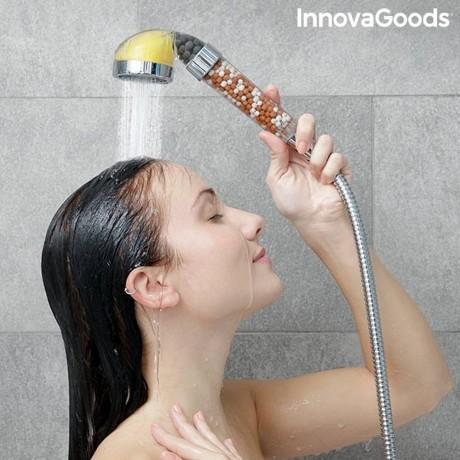 Еко - душ слушалка с ароматерапия и минерали Shosence InnovaGoods Home Houseware