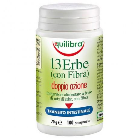 13 билки с фибри, 100 таблетки