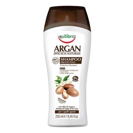 Защитен шампоан за коса с арганово масло, 250 мл