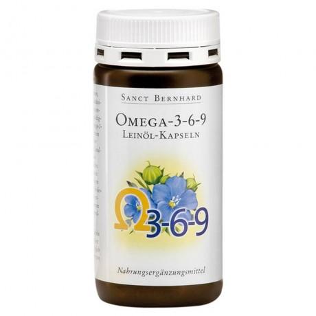 Flax Oil - Омега 3 - 6 - 9 Ленено масло, 180 капсули