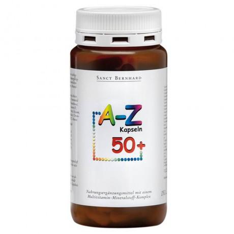 Мултивитамини и минерали A - Z 50+, 150 капсули